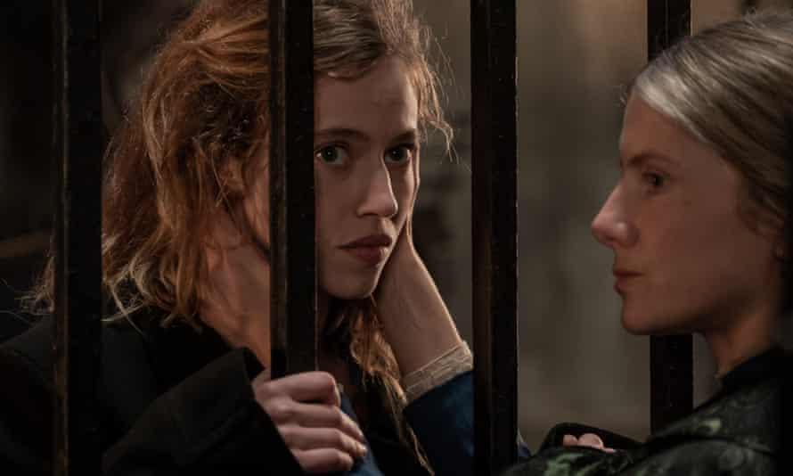 Lou de Laâge and Mélanie Laurent in The Mad Women's Ball.