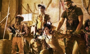 A tense standoff in the hugely successful Wolf Warriors 2.