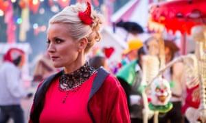 Davinia Taylor as Jude Cunningham in Hollyoaks.