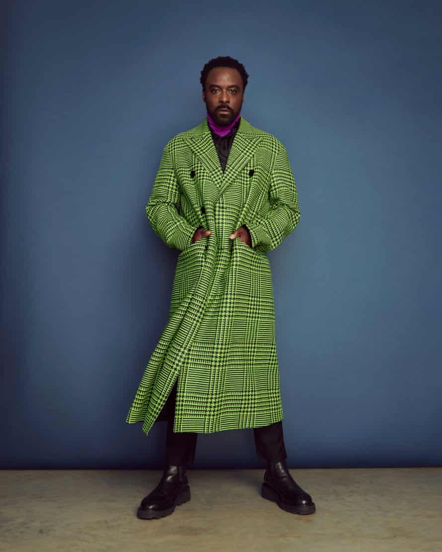 ' I was able to not be afraid': coat, jumper and rollneck all by berluti.com.