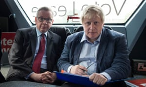 'Currently, the foreign secretary is feigning reunification with Michael Gove, who described the Good Friday agreement as a 'moral stain', and last year stood by those comments.'