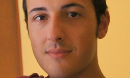Bruno Gulotta, 35, an Italian from Legnano near Milan, died in front of his wife and young son.