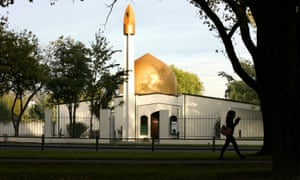The Al Noor Mosque, scene of the mass shooting in Christchurch.