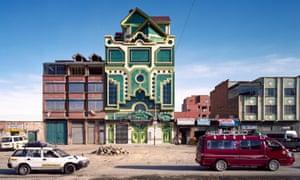 A Freddy Mamani cholet in El Alto.