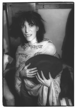 Patti Smith at the Boarding House in 1975.