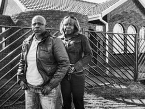 Bridget Makhomza and her former partner Nomsa Mlambo. Soweto, Johannesburg