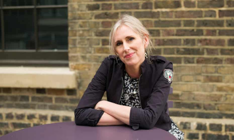 Children's book author Lauren Child at the House of Iiiustation, London.