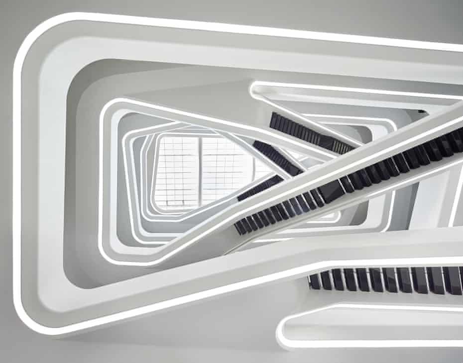 Zaha Hadid's Dominion Office Building