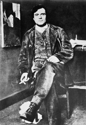 Amedeo Modigliani in early 1900s