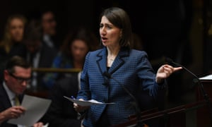NSW premier Gladys Berejiklian during question time in the legislative assembly at NSW parliament