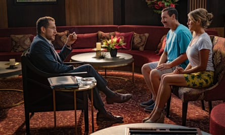 Dany Boon, Adam Sandler Jennifer Aniston Murder Mystery