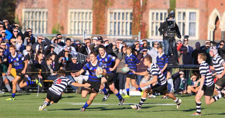 Christchurch boys' high school has produced 12 new All Blacks within the last 15 years.