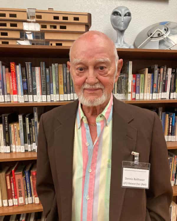Dennis Balthaser, a UFO researcher, still believes something strange happened in 1947.