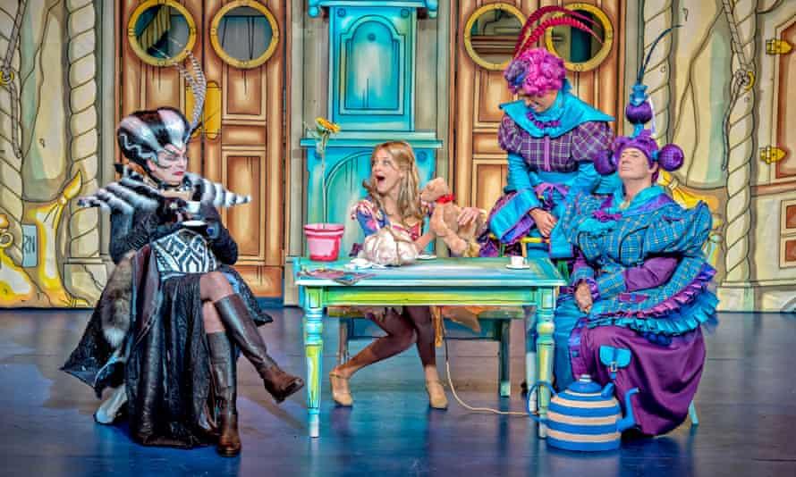 David Leonard, Suzy Cooper, AJ Powell and Berwick Kaler in Cinderella