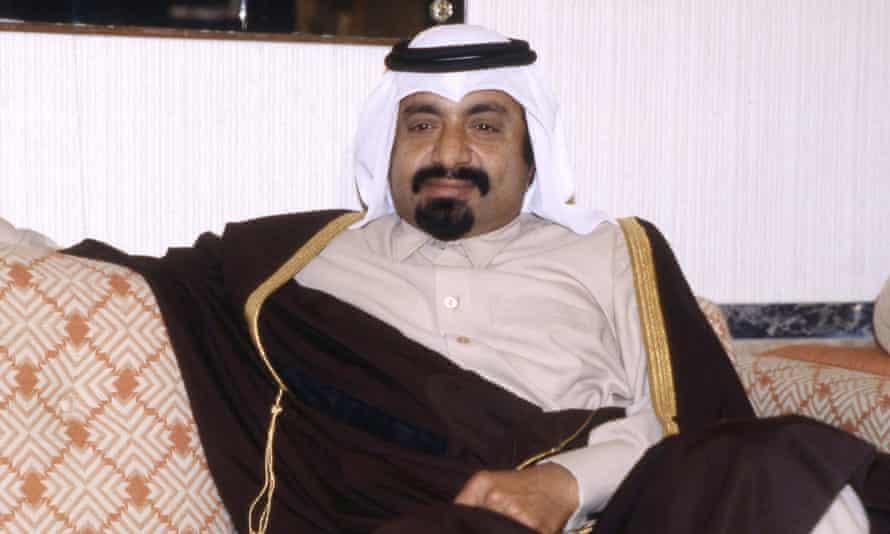 Sheikh Khalifa bin Hamad al-Thani in 1980.