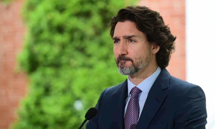 Justin Trudeau: 'This was an incredibly harmful government policy that was Canada's reality for many, many decades and Canadians today are horrified and ashamed of how our country behaved.'