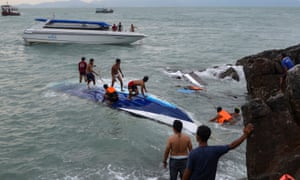 British woman killed in Thailand boat accident 'was on