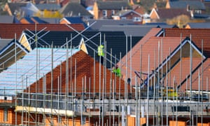 Builders blame uncertainty surrounding the government's Brexit talks for a jittery housing market.