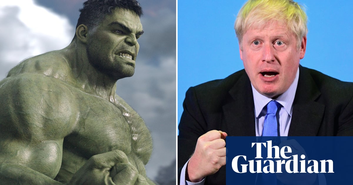 Boris the Hulk: could the PM really be the superhero?
