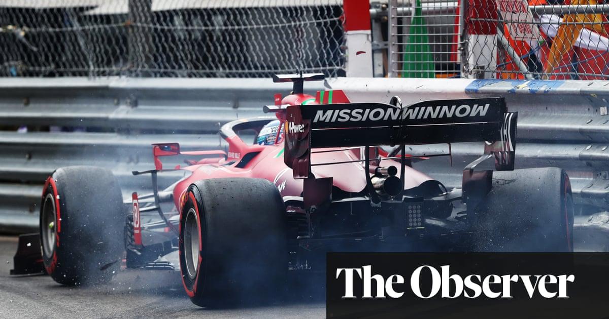 Charles Leclerc takes Monaco F1 pole despite crash, Hamilton starts seventh