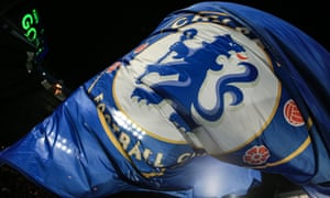 A Chelsea flag