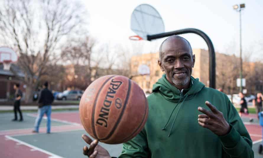 Craig Hodges in Chicago. 'There is so much injustice, but it's just a matter of time before we win these battles.'