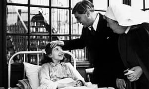 Aneurin Bevan, the Minister of Health, visiting Park Hospital, Davyhulme, near Manchester, on the first day of the National Health Service on 5 July 1948.