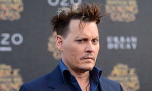 Mad hair, crazy eyes … oh, hang on, that's the real Johnny Depp.