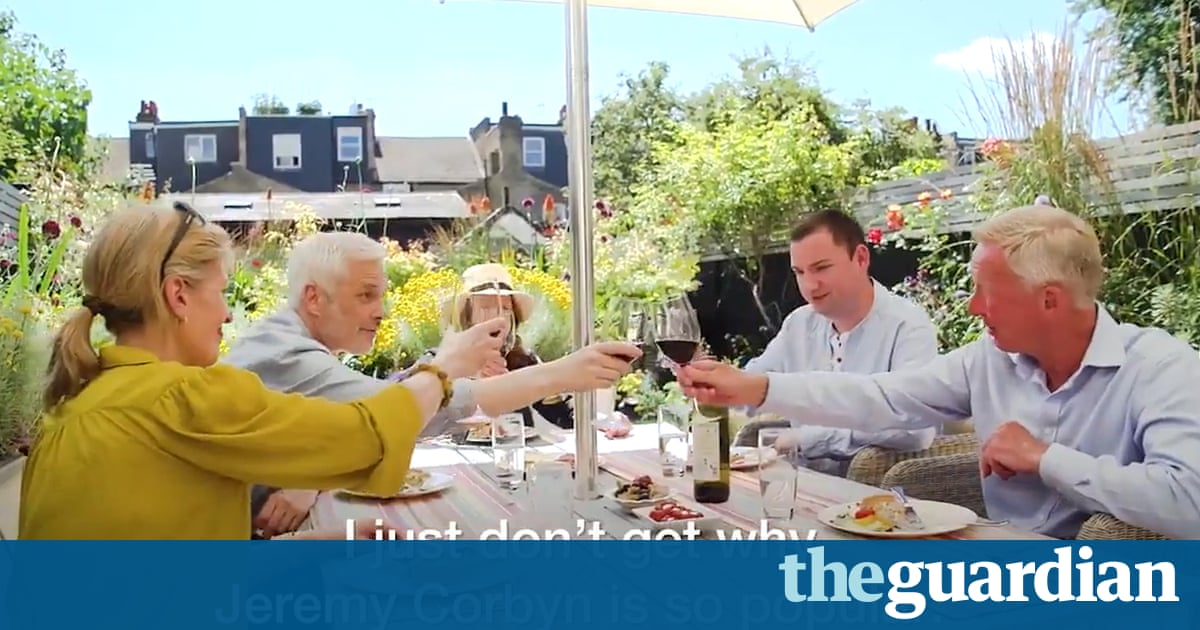 Momentum video parodies older voters discussing Corbyn's policies