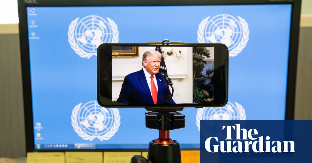 US president uses speech to denounce China, UN and WHO as Chinese leader offers starkly different response to coronavirus pandemic