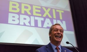Nigel Farage and the Leave campaign: predicted by Bill Broun? Well, sort of.