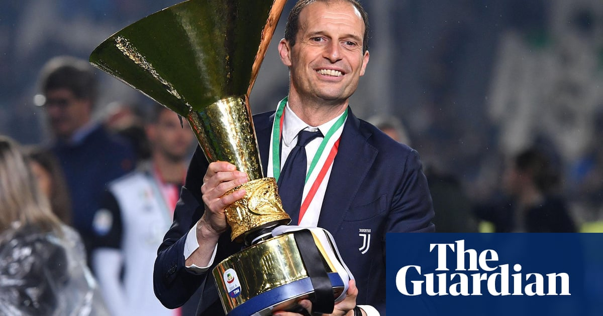 Juventus to sack Pirlo and reappoint Allegri as manager