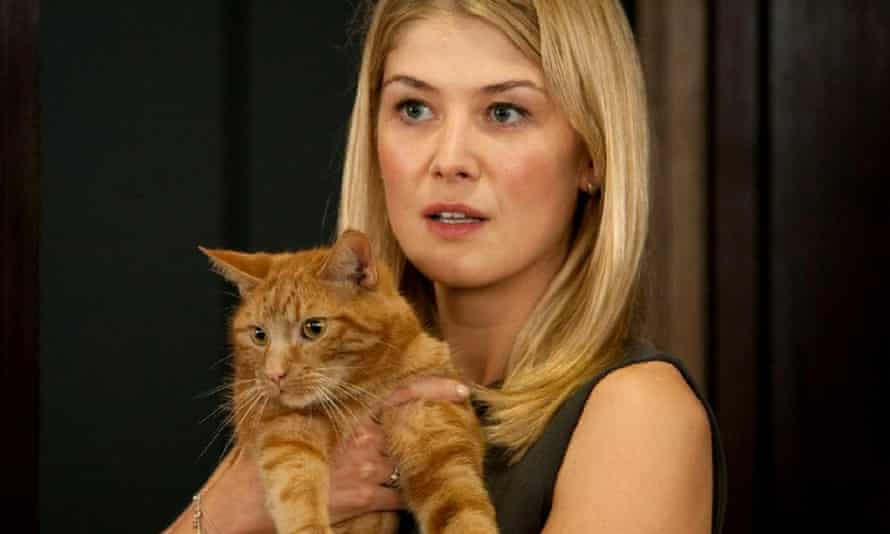 Rosamund Pike in a scene from Johnny English Reborn