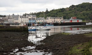 Stornoway, Isle of Lewis. A crowdsourcing campaign for a new mosque attracted donations from around the world.