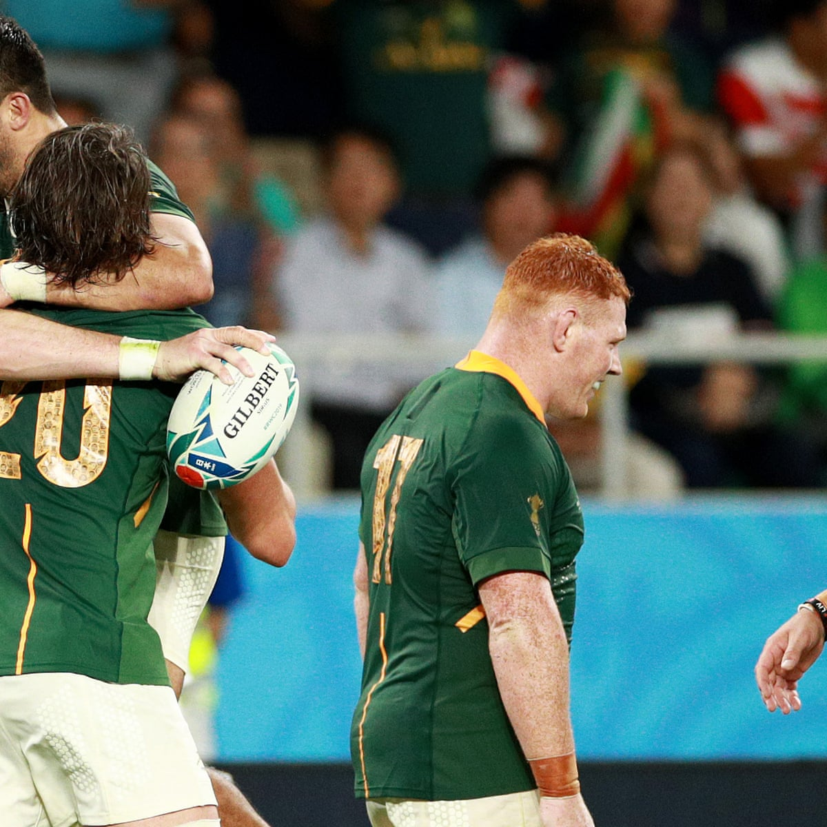 South Africa 49 3 Italy Rugby World Cup 2019 As It Happened Sport The Guardian