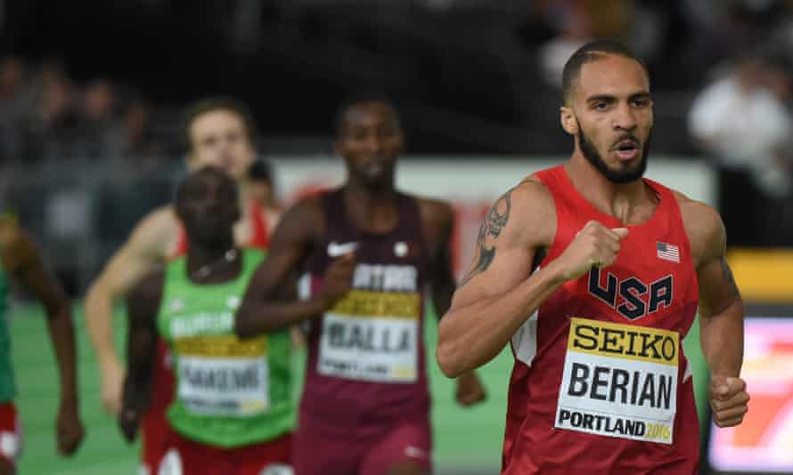 The USA's Boris Berian, who was working in McDonald's a little over a year ago, is proof that athletics still has plenty of good stories.