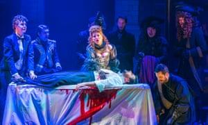 Alison Langer, Anne Sophie Duprels, Matteo Lippi and George von Bergen in Un Ballo in Maschera.