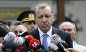 Recep Tayyip Erdoğan, the Turkish president