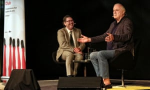 John Cleese and James Valentine at Sydney Opera House