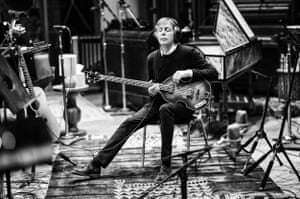 'High emotional IQ': Paul McCartney in a recording session in LA last year