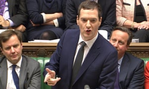 George Osborne, Britain's chancellor of the exchequer, delivering the autumn statement in the House of Commons