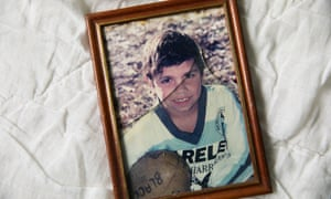 A picture of David Dungay as a boy in Kempsey, NSW, Australia. David Dungay Jr was killed while in custody at Long Bay correctional complex. He was due to be released a week later
