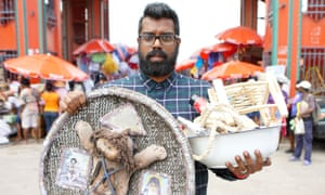 Searching for 'leave me alone' powder … a scene from The Misadventures of Romesh Ranganathan.