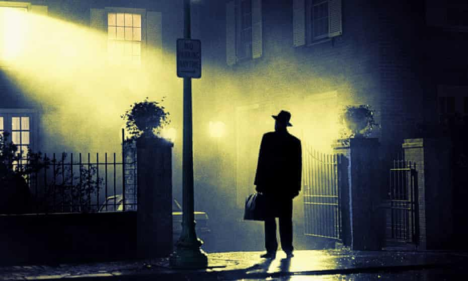Max von Sydow in the 1973 film of William Peter Blatty's book The Exorcist.