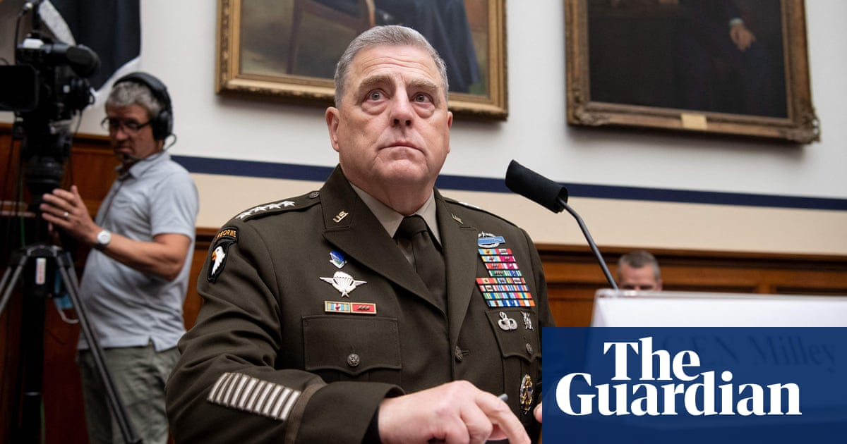 'I want to understand': top US general defends studying critical race theory in military – video