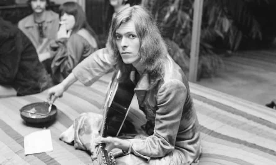 David Bowie in Los Angeles, 1971.