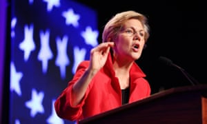 Elizabeth Warren has unleashed a war of words against Trump: 'What kind of a man roots for people to get thrown out of their houses?'