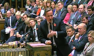 Cameron's speech to the Commons last week on Syria was generally viewed to have been lacklustre.
