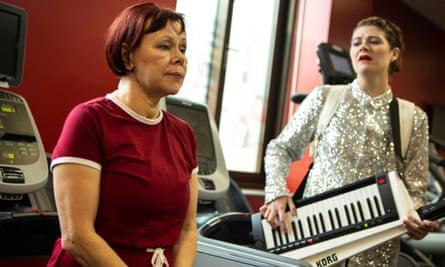 Fiona Watson and Eleanor Isherwood in Take On Me.