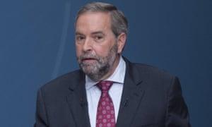 thomas mulcair new democratic party canada
